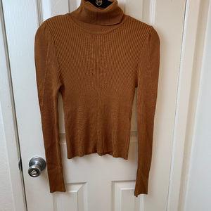 Topshop Copper Turtleneck Sweater. Sz 4
